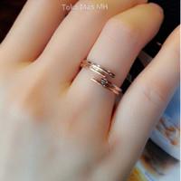 harga cincin mas kombinasi 2 warna Tokopedia.com