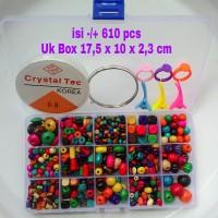 harga Mainan Meronce 15 Model Manik Kayu Tokopedia.com