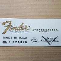 WaterSlide Decal Fender #1