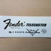 WaterSlide Decal Fender #2