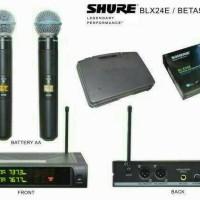 mic wireless shure blx24e beta 58a / microphone shure blx24e beta 58a