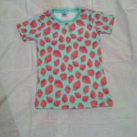 kaos anak strawberry by disney
