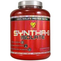 Syntha-6 Isolate BSN 4Lbs Strawberry/meningkatkan massa otot