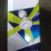 Kipas Angin Gantung 5 Baling Mini Fan Timezone 660