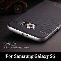 harga Original 100% Case Ipaky Samsung S6 Flat Soft Carbon + Bumper Frame Tokopedia.com