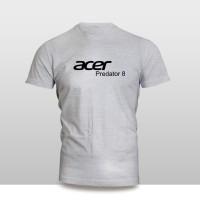 Kaos Baju Pakaian GADGET HANDPHONE Acer Predator 8 Font murah