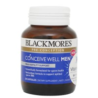 BLACKMORES CONCEIVE WELL MEN - 28 TAB