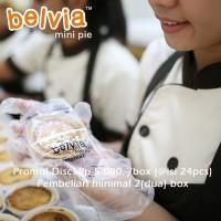 Jual Belvia Mini Pie Favorit A (Original - Keju - Coklat) Pie Susu Murah