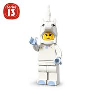 Lego Minifigure Series 13 : Unicorn Girl MF Minifig Animal Suit