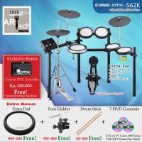 Drum Elektrik Yamaha DTX562K + Extra Pad / DTX562 / DTX 562 / DTX 562K