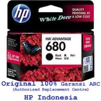 Cartridge HP 680 Black Printer 1115, 1118, 2135, 3635, 3835, 4675