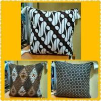 Set Sarung Bantal Kursi Full Batik Motif Campur 1