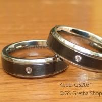 Cincin Pasangan Titanium Kode GS2031
