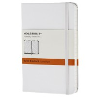 Classic White Pocket Ruled Notebook 9788866137177