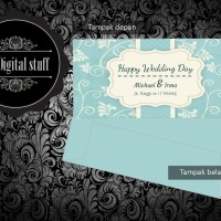 Amplop angpao / sumbangan / ucapan nikah / happy wedding custom