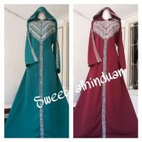 harga abaya hoodie syahrini Tokopedia.com