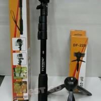 harga Paket Murah Tripod Tongsis Yunteng YT-188 + Yunteng DF-228 Tokopedia.com