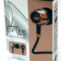 Handsfree - Monster Turbine Pro Gold Headset