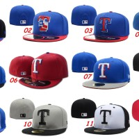 harga Topi Fitted New Era 59fifty Baseball MLB Texas Rangers - Import Tokopedia.com