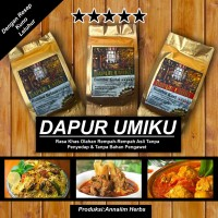 RESTO ARAB Bumbu Bubuk DAPUR UMIKU Gulai (Gule) & Nasi Kebuli 100gram