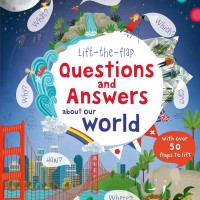 harga [BUF05] Usborne - Lift the Flap - Q&A Our World Tokopedia.com