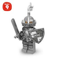 Lego Minifigure Series 9 : Heroic Knight MF Minifig Castle War