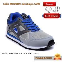 harga EAGLE ULTRASONIC R.BLUE / BLACK / LT.GREY sepatu jogging kets sneakcer Tokopedia.com
