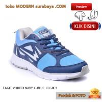 harga EAGLE VORTEX NAVY / G BLUE / LT GREY 38-44 sepatu running kets casual Tokopedia.com