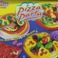 Lilin Play Doh Fundoh Mainan Anak Membuat Makanan Pizza Hut Fan-Doh