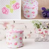 Jual AR018 Kantong Pakaian Dalam Tas Jala Mesin Cuci Flower Laundry Bra Bag Murah