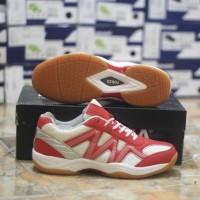 SEPATU BADMINTON ORIGINAL forza result shoes teaberry-MURAH