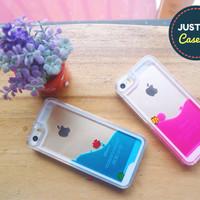 AQUA GLASS CASE/COVER for iPhone 4/4S/5/5S/SE/6/6S HARD CASE