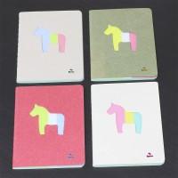 Rocking Horse Plain Green Pocket Notes