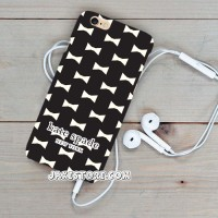 Kate Spade Black White iPhone Case 4 4s 5 5s 5c 6 6s Plus Cover Cover