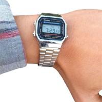 Jam Tangan Casio A 178 Silver