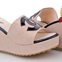 Jual model sepatu sandal wedges boots wanita murah,online shop  DISTRIBUTOR Murah