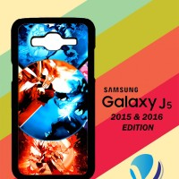 Custom Casing HP Samsung Galaxy J5 2015 / 2016 Mega Blaziken VS Mega L