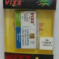 Vizz Asus Zenfone 4 2300mAh Battery Baterai Double Power A400CG A450CG
