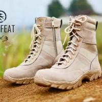 SEPATU BOOT TOURING TACTICAL MOOFEAT ORGINAL