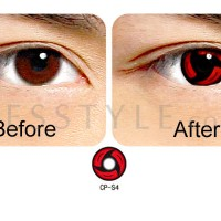 ORIGINAL Softlens Geo Crazy Anime Cosplay CP-S4 Itachi Naruto Series