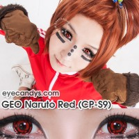 ORIGINAL Softlens Geo Crazy Anime Cosplay CP-S9 Madara Naruto Series