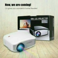 harga CHEERLUX C6 Mini Proyektor Projector Portable LED LCD 1200 lumens + TV Tokopedia.com