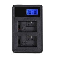 Travel Charger Dual Slot + Lcd Display Bc-Vw1 For Sony Battery Fw-50