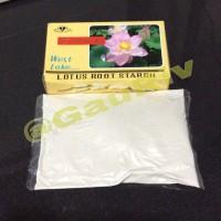 Lotus Root Starch Herbal Maag Tipus Non Gula Bubuk Akar umbi Teratai