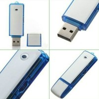 perekam suara/voice recorder 8gb+flashdisk usb#best seller