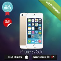 APPLE IPHONE 5S 32GB GOLD GSM GARANSI DISTRIBUTOR 1 TAHUN