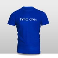 Kaos Baju Pakaian GADGET HANDPHONE HTC ONE M9 Logo Font murah