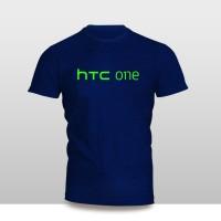 Kaos Baju Pakaian GADGET HANDPHONE HTC ONE Logo Font murah