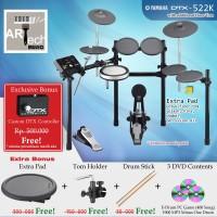 Drum Elektrik Yamaha DTX522K + Extra Pad / DTX522 / DTX 522 / DTX 522K