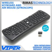 2.4Ghz Wireless Gyroscope Air Mouse Keyboard PC Smart TV Android TV
